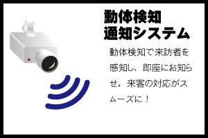 動体検知システムイメージ